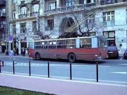Old Ziu Soviet Trolleybus