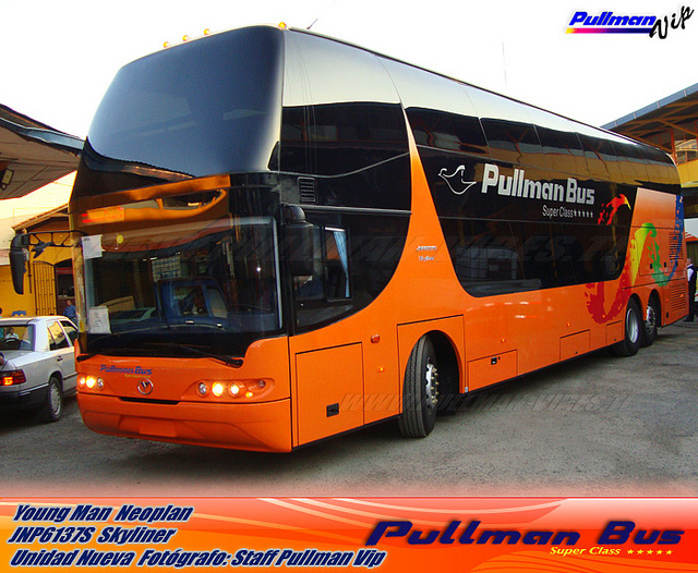 Pullman Bus - Young Man Neoplan