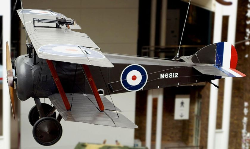 Sopwith Camel at the Imperial War Museum