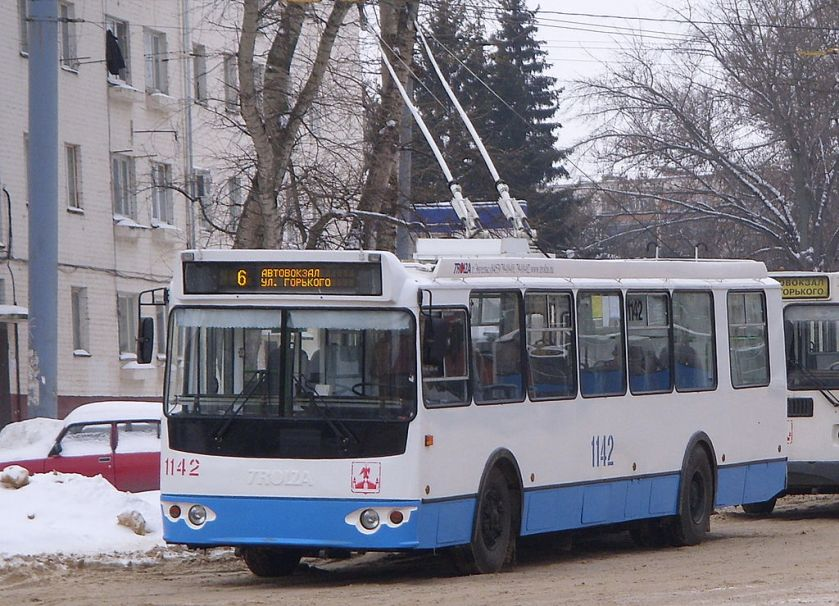 Trolleybus ZiU-682G-016.05 in Orël
