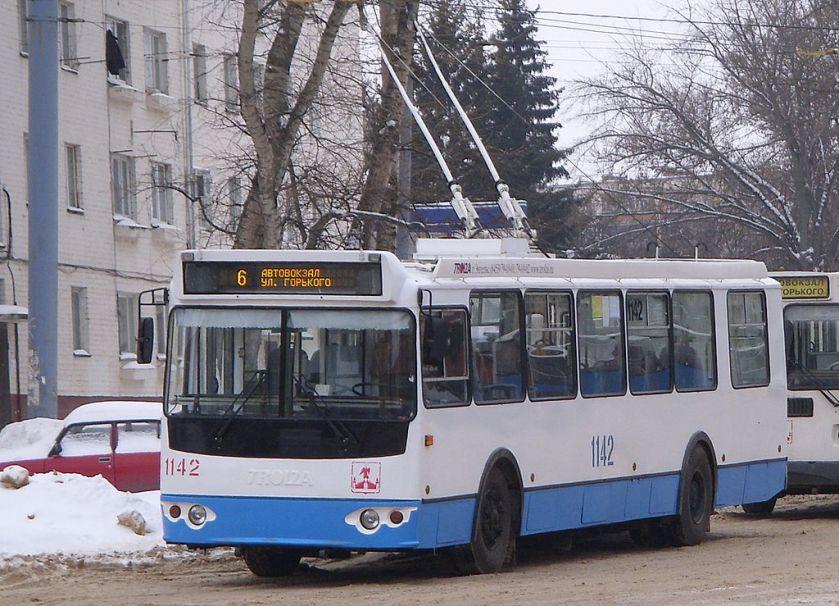 Trolleybus ZiU-682G-016.05 in Orël