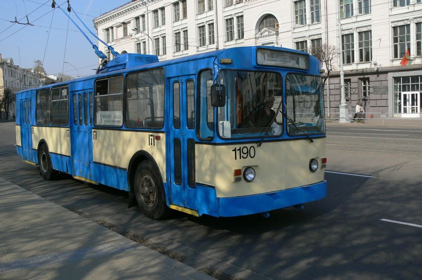 Trolleybus ZiU-682v in Minsk