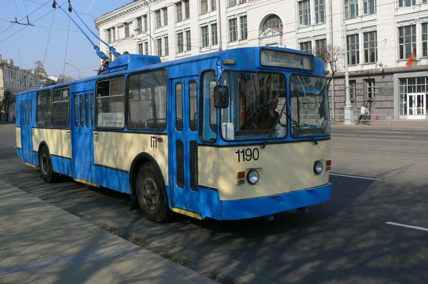 Trolleybus ZiU-682v in Minsk