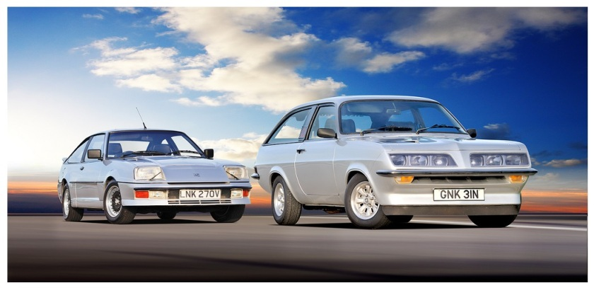 TWO VAUXHALL DESIGN STUDIES IN ADVANCED AERODYNAMICS - THE SILVER BULLET & SILVER AERO