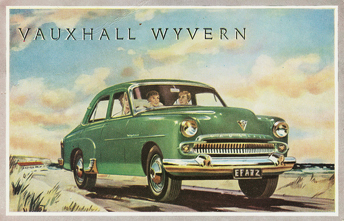 Vauxhall Wyvern Saloon (Sedan)