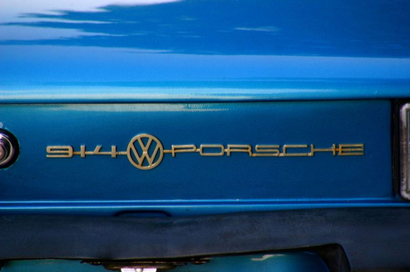 Vw-porsche914-typenbezeichnung Combined badging of the European 914