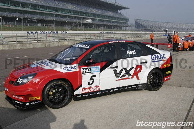 VX Racing Vauxhall Vectra - Matt Neal