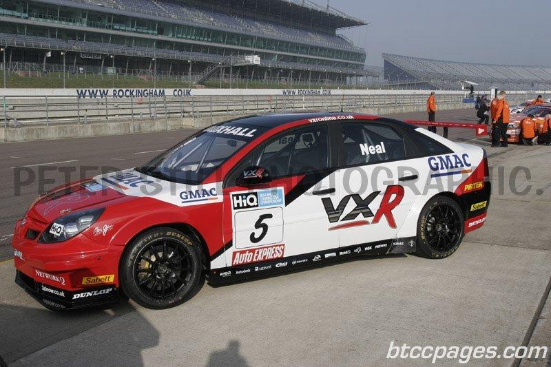 VX Racing Vauxhall Vectra - Matt Neal