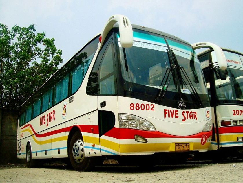 Yutong Bus in The Philippines