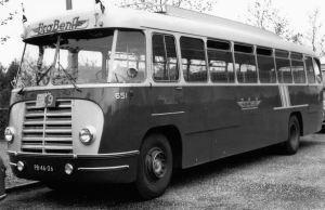 ZABO Kromhout BBA BraBenA bus 651 Stad Amsterdam