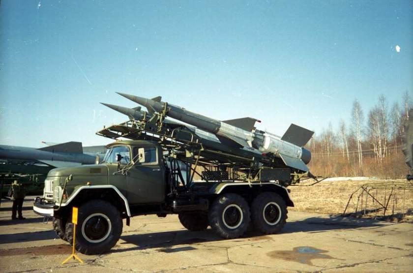 ZIL 131 Missile Launcher