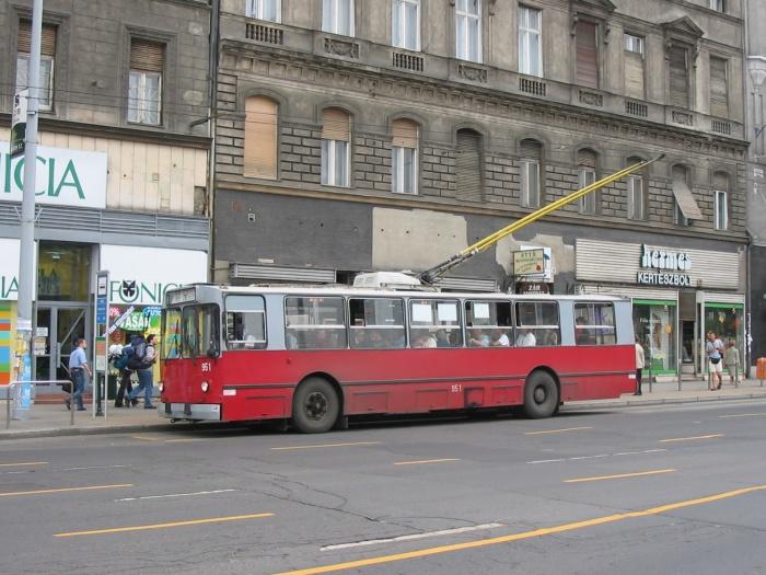 ZIU 9-951-76-NZA Boekarest Trollybus made in Russia