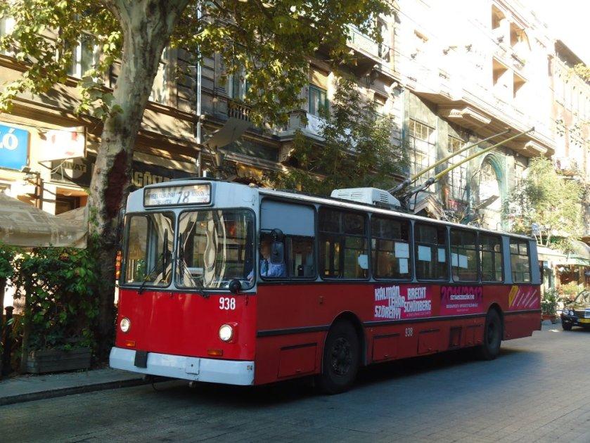 ZIU Trolleybus Budapest
