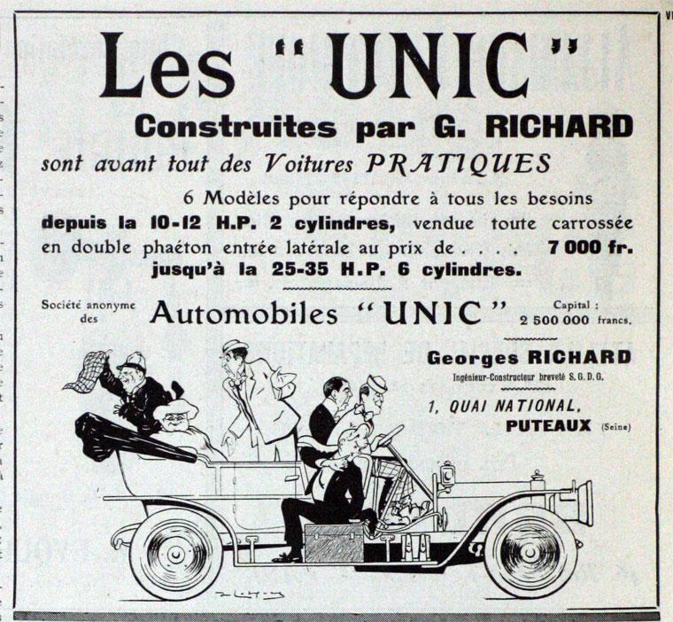 1908 Unic