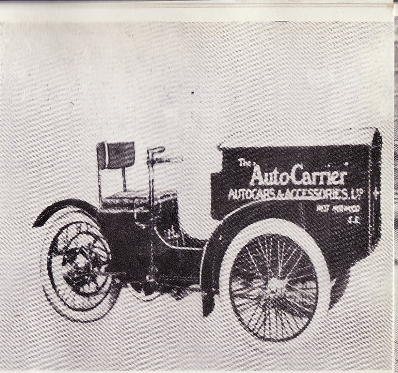 1909 Auto Carrier