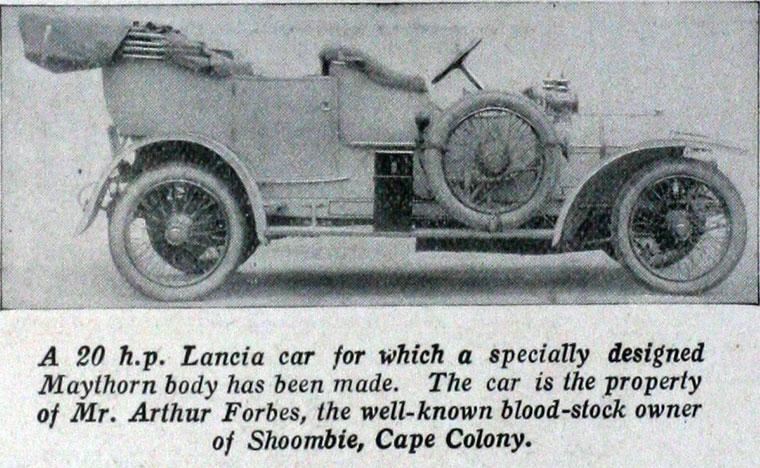 1909 Lancia a