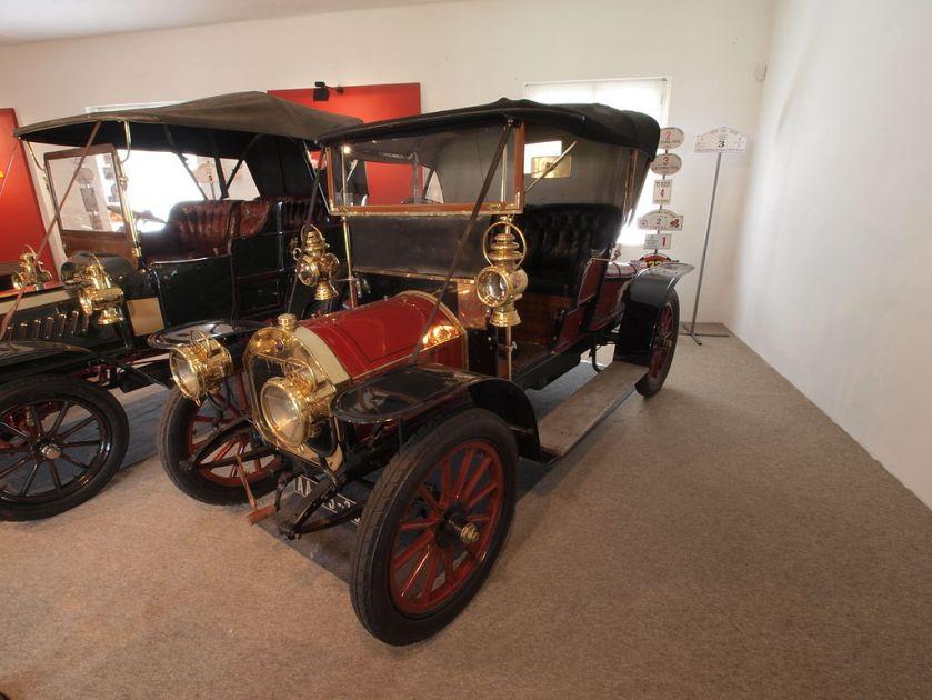 1909 UNIC 12hp 1800cc, 60kmh