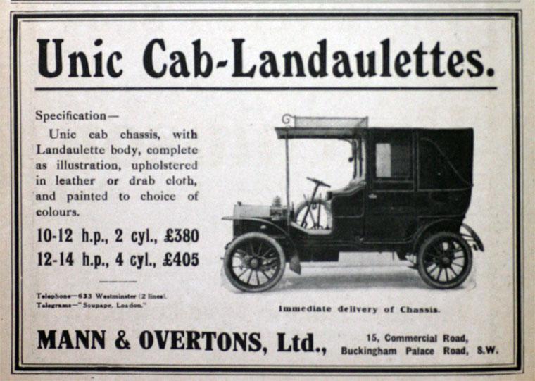 1909 Unic a