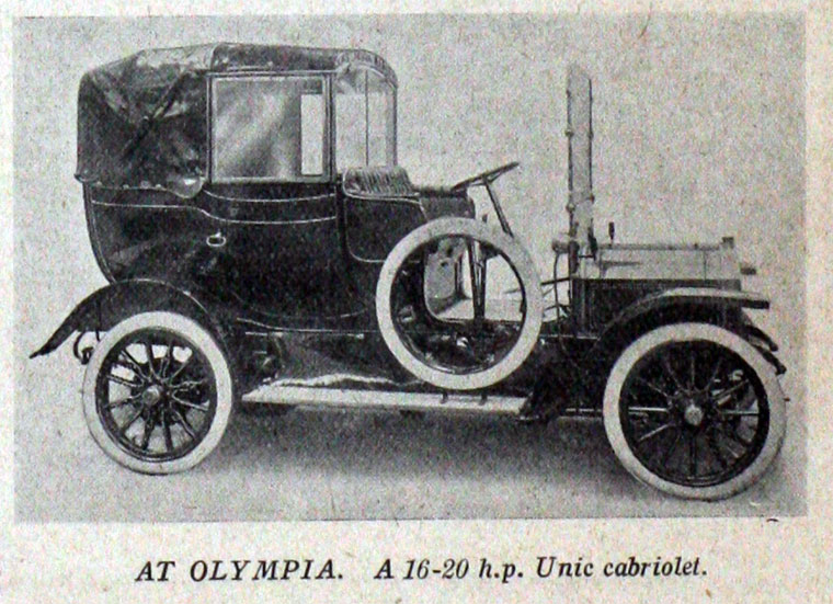 1909 Unic