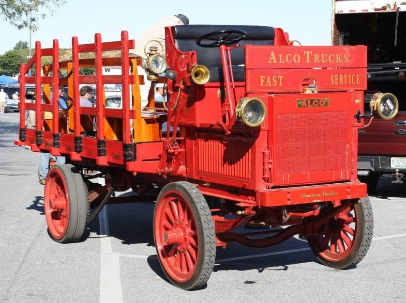 1910 ALCO truck   F
