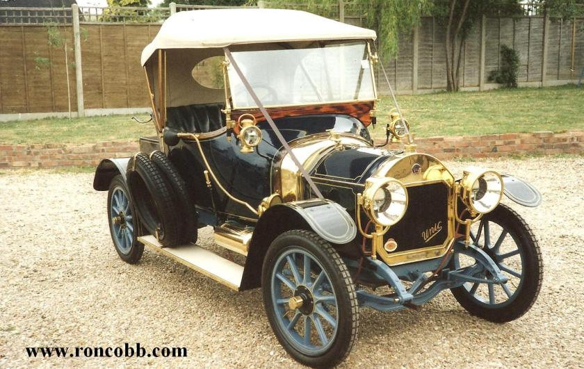 1911 Georges Richard Unic 10-12HP four cylinder