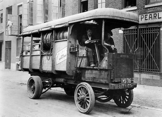1912 Alco Delivery Truck