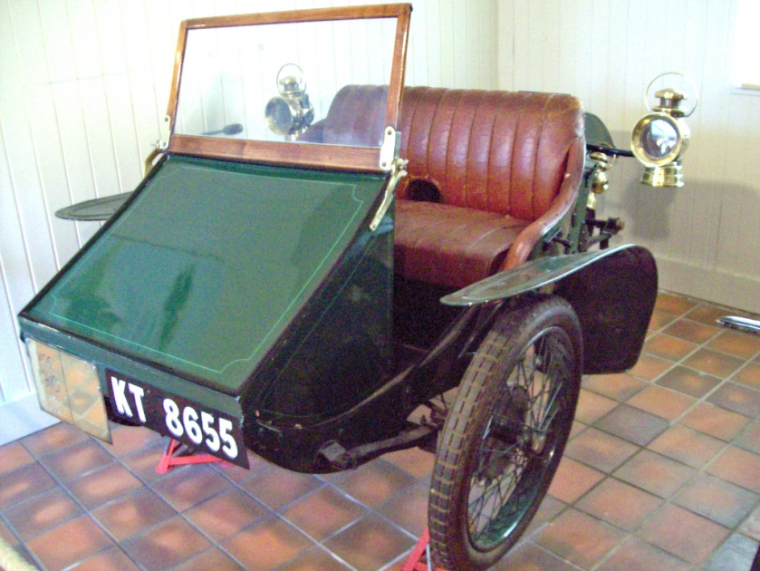 1913 AC Sociable  Engine 214cc