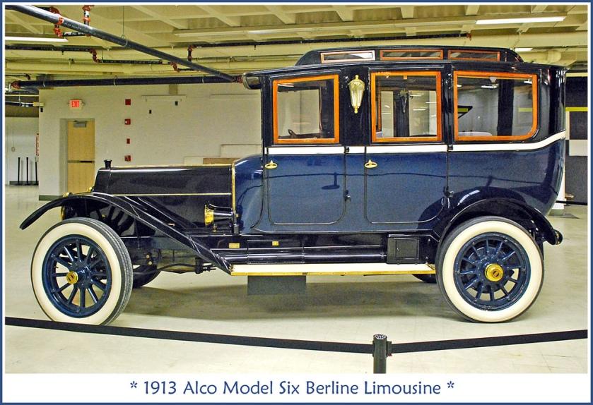 1913 Alco Berline Limousine