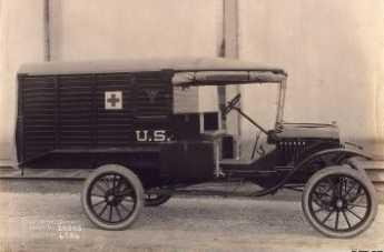 1920 brill ambulance