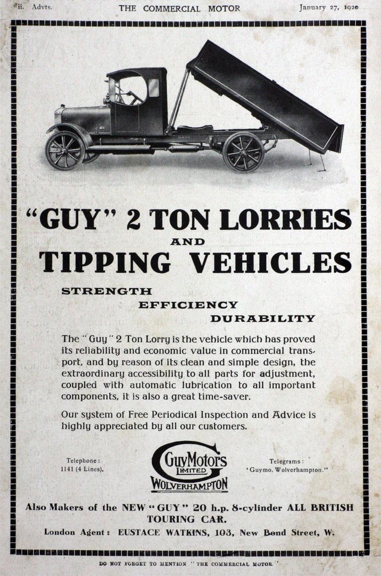1920 Guy Motors