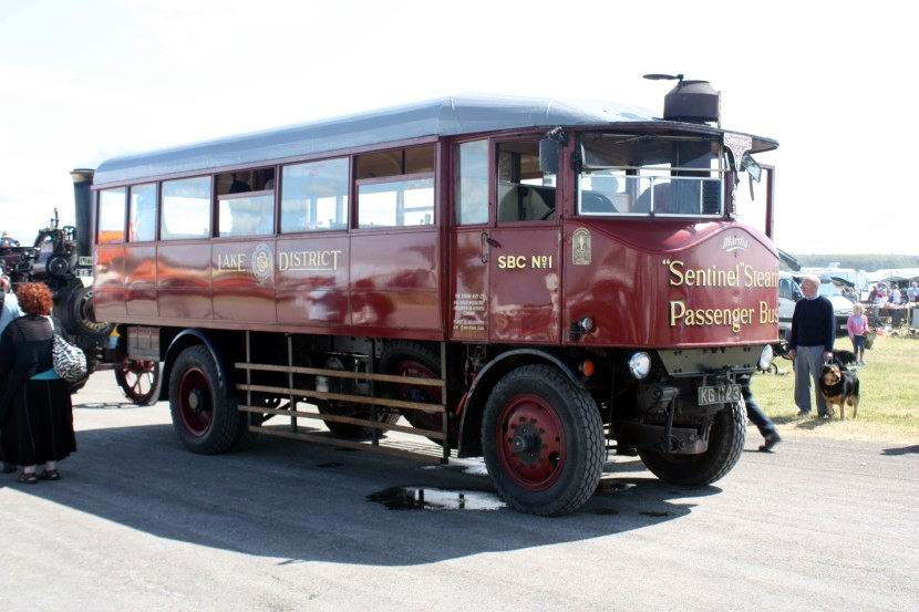 1920 Sentinel no. 8714 Bus - Martha - KG 1132 at Cumbria 09