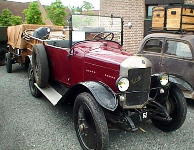 1920 Unic Camionette at a CVBA meet Unic Camionette
