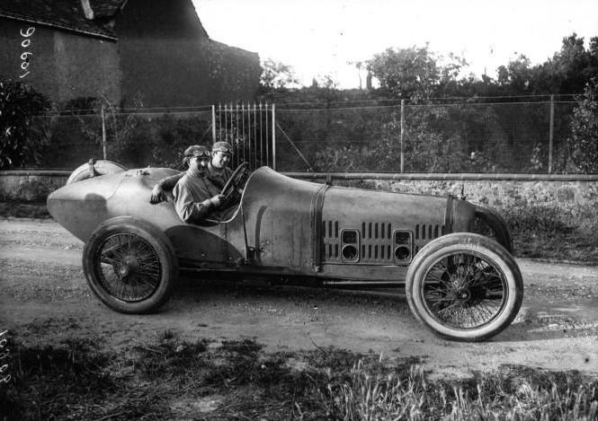 1921 Ballot 3L lors du Grand Prix de France