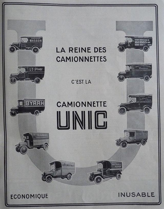 1923 Camionnette Unic
