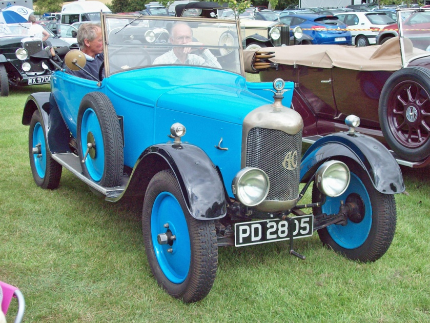 1924 AC 10hp. (1920-38) 1296cc PD