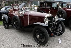 1924 ballot cars model 2lt torpedo