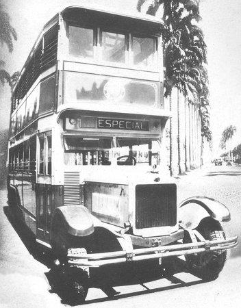 1924 Guy six-wheelers in Rio de Janeiro
