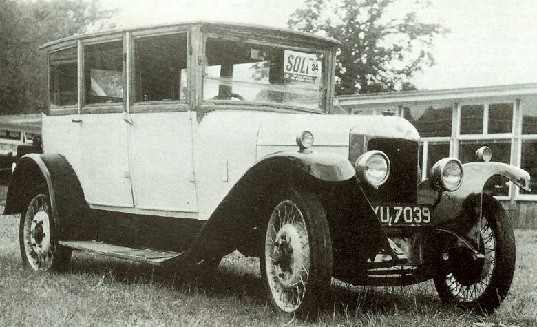 1924 Unic 12hp Type L