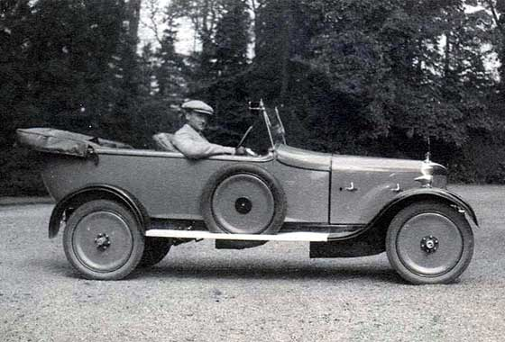 1925 AC 12HP Royal Four Seater