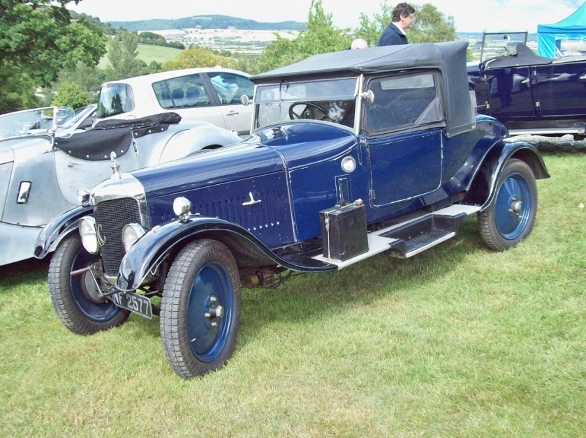 1925 AC Six Engine 1478cc S6
