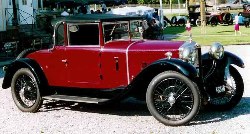 1925 Ballot 2LTS Cabriolet
