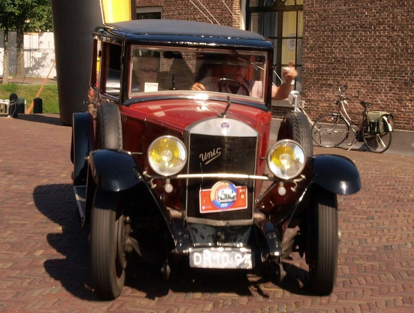 1926 Unic L61, Dutch licence registration DH-10-94