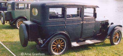 1926 Volvo PV4 4