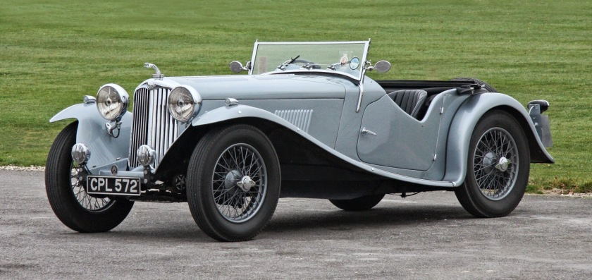 1927 AC Six (16-40, 16-56 and 16-66) car