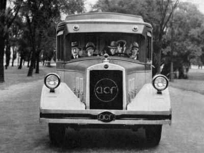1927 ACF bus 3, American Car and Foundry