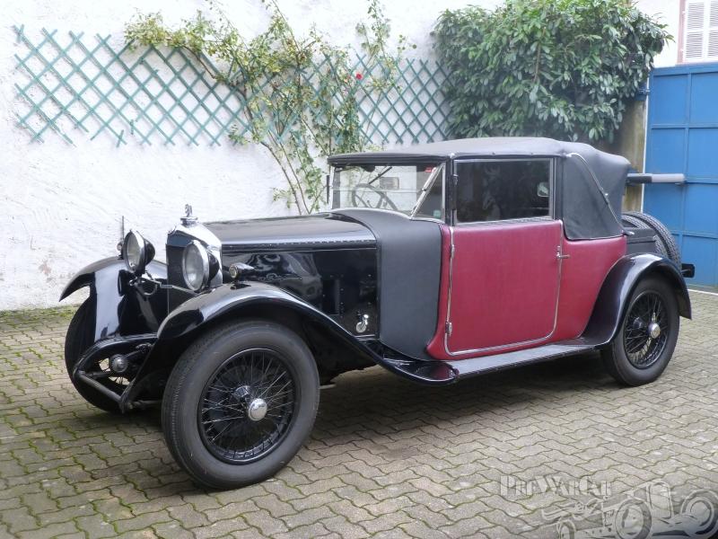 1927 Ballot Cabriolet Figoni Red