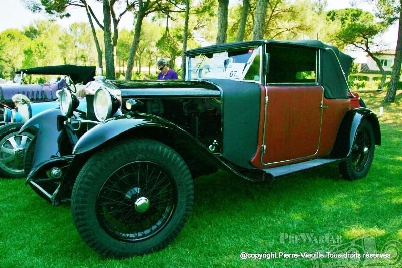 1927 Ballot Cabriolet Figoni