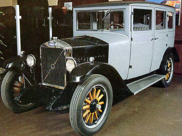 1927 Volvo PV4 1