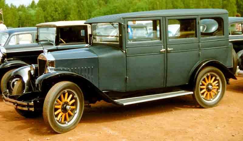 1927 Volvo PV4 4-Door saloon