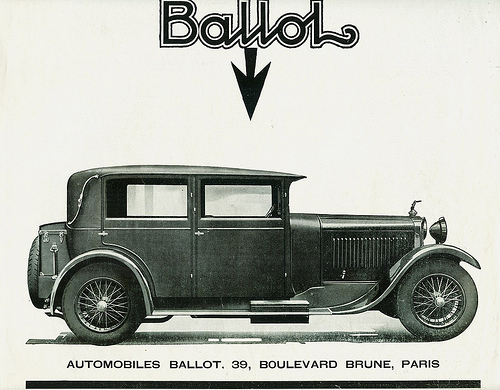 1928 Ballot 8 Cylindres